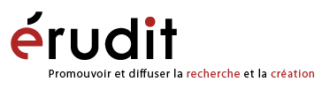 Logo Érudit